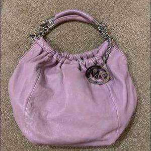 Michael Kors Purple Shoulder bag